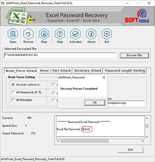 excel unprotect sheet recover password