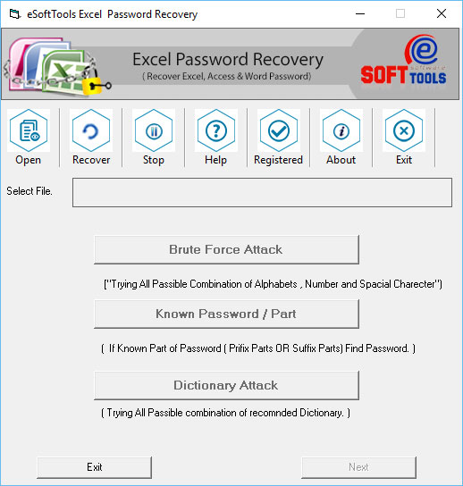 Microsoft Excel Password Unlocker Shareware